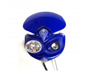 Front light blue halogen