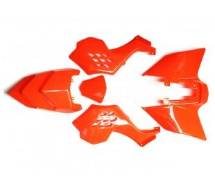 Plastics Mini ATV Raptor orange