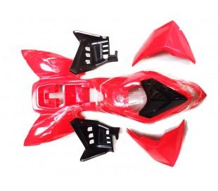 Plastics ATV 110cc red