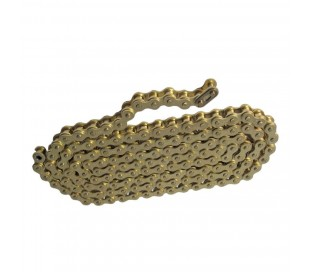 Reinforced chain 428 gold