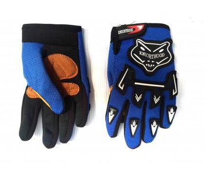 Kid gloves cross
